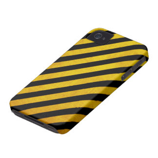 Rayure grunge de risque coque iPhone 4 Case-Mate