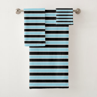 Rayures bleues et noires et blanches en pastel