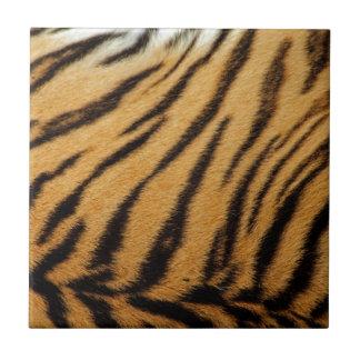 Rayures de fourrure de tigre carreau