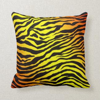 Rayures de tigre coussin