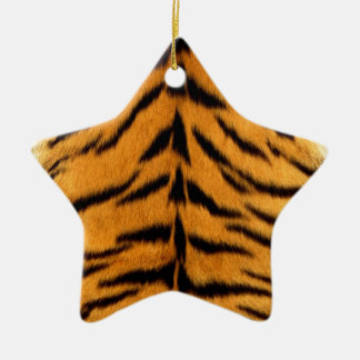 Rayures de tigre ornement étoile en céramique