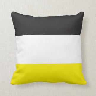 coussins jaune blanc noir. Black Bedroom Furniture Sets. Home Design Ideas