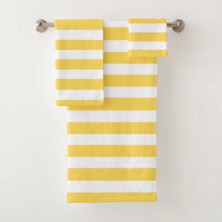 Rayures jaunes de chaise longue