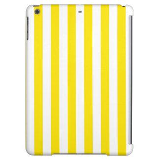 Rayures jaunes verticales