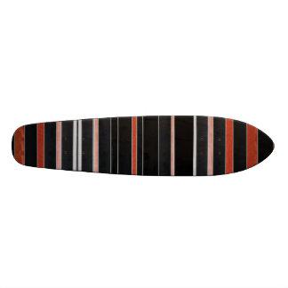 Rayures NOIRES de beauté Planches À Roulettes Customisées