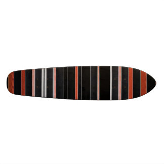 Rayures NOIRES de beauté Skateboard Old School 21,6 Cm