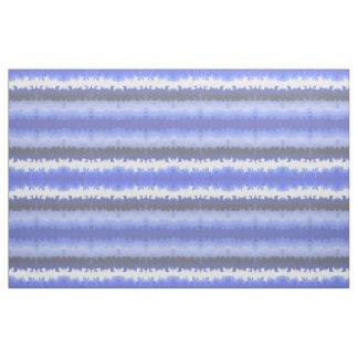 Rayures peintes par vague bleue tissu
