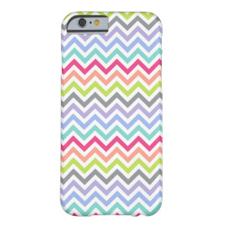 Rayures personnalisables de | Chevron Coque iPhone 6 Barely There