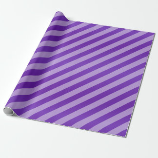 Rayures pourpres et diagonales foncées papiers cadeaux noël