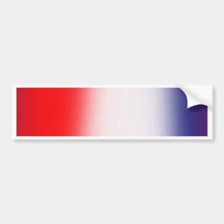 Rayures ! Rouge, blanc, et bleu Autocollant De Voiture