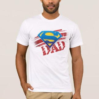 Rayures superbes de papa t-shirt