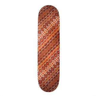 Rayures tribales plateaux de skate