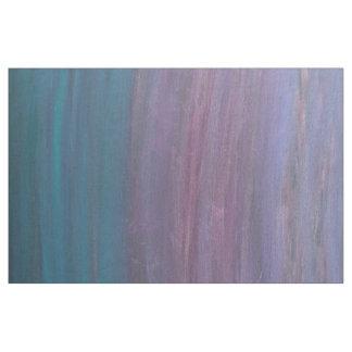 Rayures turquoises roses pourpres visionnaires de tissu