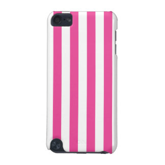 Rayures verticales roses coque iPod touch 5G
