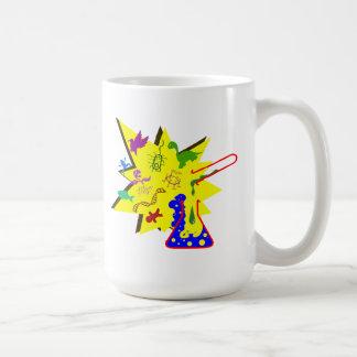 Réaction chimique ! ! ! mug blanc