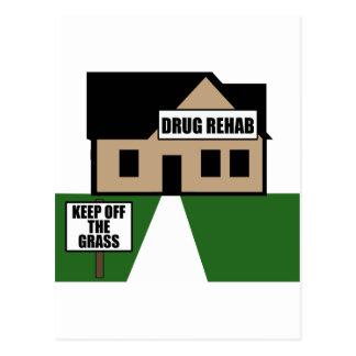 Réadaptation de drogue cartes postales