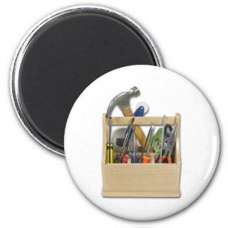 ReadyToolsToolbox050111 Magnet Rond 8 Cm