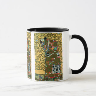 Réalisation aka l'étreinte par Gustav Klimt Tasse