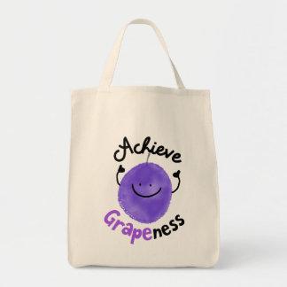 Réalisez le ness de raisin - Fourre-tout Tote Bag