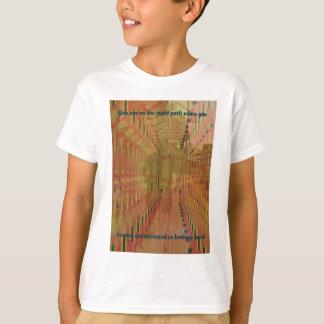 Réalité alternative entrant dans le futur résumé t-shirt