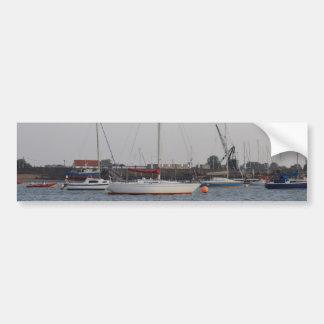 Réalité de yacht autocollant pour voiture