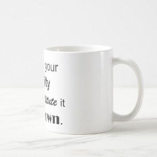 Réalité Tasse À Café