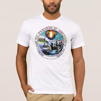 Rébellion au T-shirt de joint de Thomas Jefferson