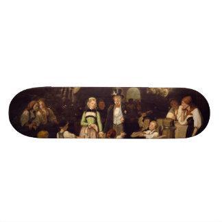 Réception des couples de mariage par Theodor Schuz Mini Skateboard 18,4 Cm