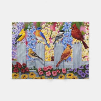 Réception en plein air colorée d'oiseaux de