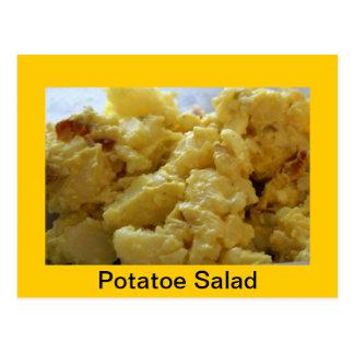 Recette de salade de pomme de terre carte postale