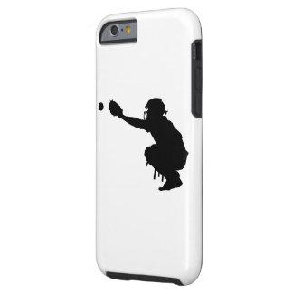 Receveur de base-ball coque iPhone 6 tough