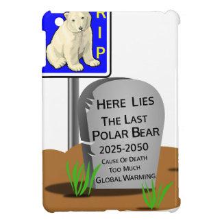 Réchauffement climatique, ours blanc 2050 de coque iPad mini