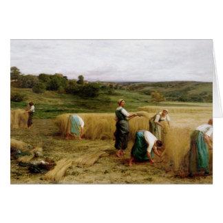 Récolte, 1874 cartes