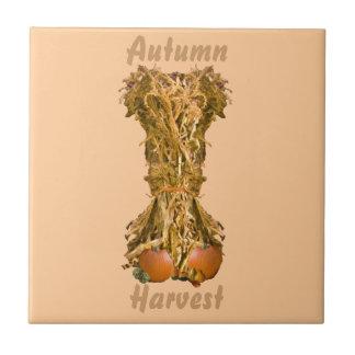 """Récolte 4,25"""" d'automne tuile ou trépied carreaux"""