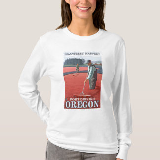 Récolte de marais de canneberge - port Orford, T-shirt