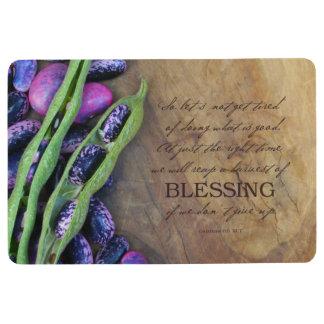 Récolte de tapis de plancher de bénédiction