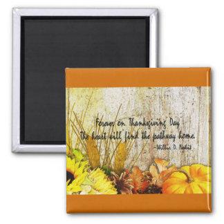 Récolte de thanksgiving aimant