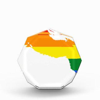 Récompense Carte de drapeau du Cuba LGBT
