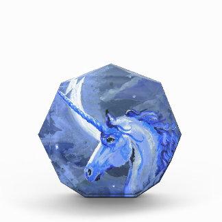 Récompense Cheval de licorne de lune bleue, poney, Pegasus,