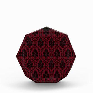 Récompense conception florale de texture de motif d'art