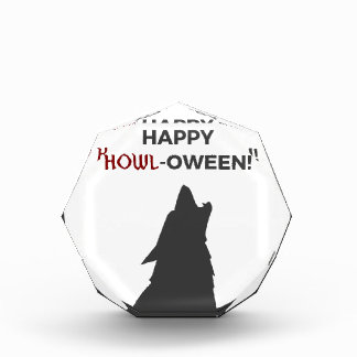 Récompense Conception heureuse de Halloween de loup-garou