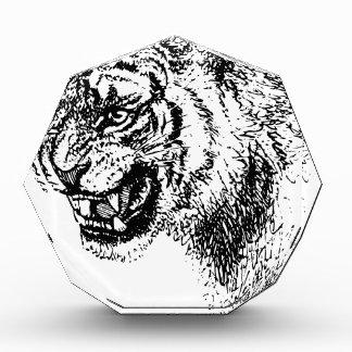 Récompense Croquis principal de tigre