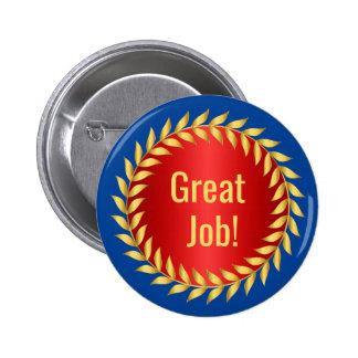 Récompense de motivation du grand travail badges