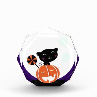 Récompense Édition de Halloween de chat noir