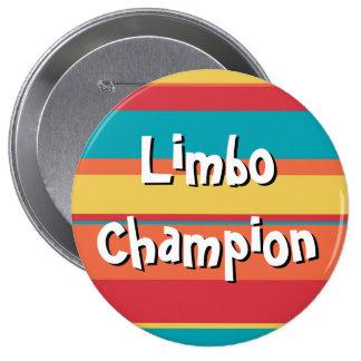 Récompense fictive énorme de bouton de champion badge