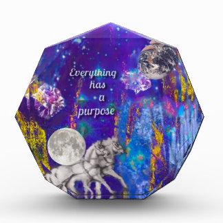 Récompense La lune revient pour mettre à la terre