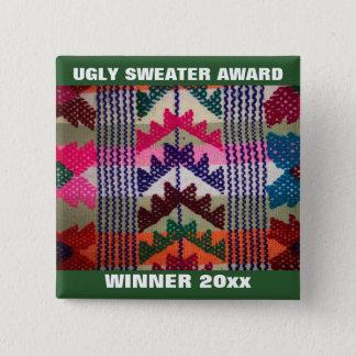 Récompense laide de gagnant de concours de badges