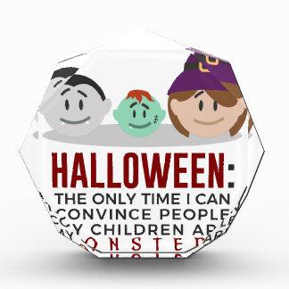 Récompense Mes enfants sont conception de Halloween de