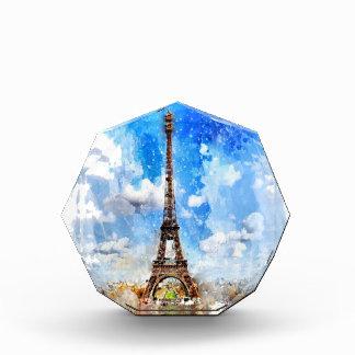 Récompense Paris, Tour Eiffel, aquarelle, élégante