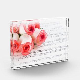 Récompense Roses et musique
